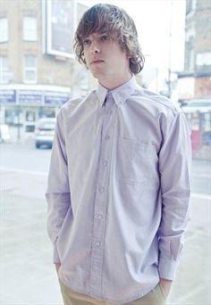 Vintage pastel oxford shirt  £28