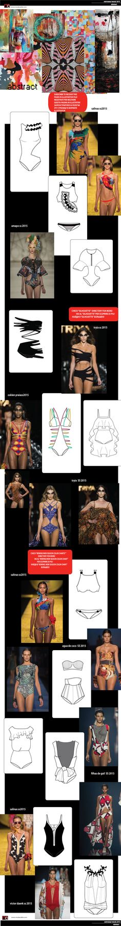 PopUp ModaCable.com Flat Drawings, Flat Sketches, Technical Drawings, Bralette Pattern, Fashion Templates, Fashion Design Sketches, Fashion Portfolio, Pattern Cutting, Designer Swimwear