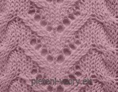 vzor 93-500 Knitting Stitches, Blanket, Crochet, Knits, Dots, Knitting Patterns, Ganchillo, Blankets, Cover