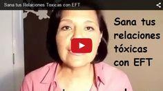 Esta semana te comparto un ejercicio en video, con el titulo: sana tus relaciones tóxicas con EFT o tambien conocida como tapping.