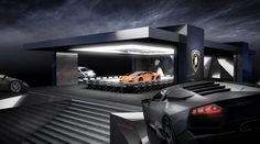 Lamborghini Aventador Reveal, launch in Rome, 2010 by WHITE ELEMENTS, via Behance