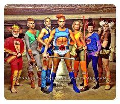 thundercat group, homemad thundercat, halloween costumes, group costumes, sexi homemad, coolest halloween, coolest homemad, sexi halloween, homemad costum