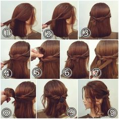 Timeless Prom Hairstyles Everyone Loves Super Cute Hairstyles, Prom Hairstyles For Short Hair, Creative Hairstyles, Vintage Hairstyles, Easy Hairstyles, Straight Hairstyles, Cool Hair Designs, Side Swept Curls, Vintage Curls