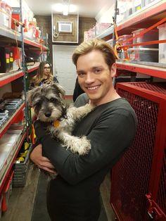 "kathleenjenkins056: Dom ""aka Jace"" getting his puppy..."
