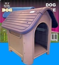 Extra Durable Plastic Dog House Home Kennel Crate Blue Indoor & Outdoor Use by Unique, http://www.amazon.com/dp/B005KMF0US/ref=cm_sw_r_pi_dp_Agfiqb1SKMSSN
