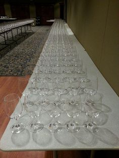 Missouri Wine competition set-up, Jefferson City, Missouri July 15-16