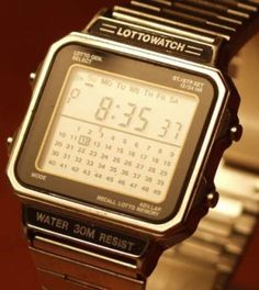 Vintage Electronics Have Soul - The Pocket Calculator Show Website Retro Watches, Vintage Watches, Cool Watches, Watches For Men, Gadget Watches, Seiko Skx, The Last Laugh, Retro Clock, Android Watch