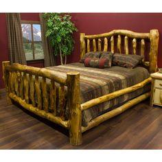 Beartooth Aspen Log Bed