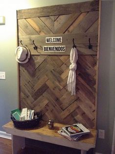 Finally found a use for the old pallets I collected over a year ago. T… :: Hometalk