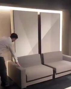 Sofa Bed Design, Living Room Sofa Design, Room Design Bedroom, Bedroom Furniture Design, Home Room Design, Bed Furniture, Home Interior Design, Living Room Designs, Furniture Ideas