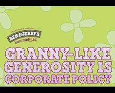 GRANNY, Ben & Jerry's Ice-cream, Fallon London, Ben & Jerry's, Print, Outdoor, Ads