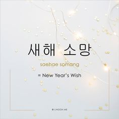 Learn Korean Vocabulary: New Year's Wish #korean #hangul #learnKorean #koreanVocab #koreanVocabulary