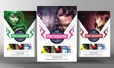 Photoshop PSD Photography flyer is easily modified by  Object Layers to replace Photos. Photography Flyer Template has high-quality  Resolution images.It gives 3 different  Colors & Free Fonts to  Edit  Text Layers.