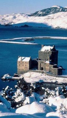 Eilean Donan Castle  Lochalsh Western Highlands Scotland
