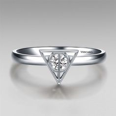 Deathly Hallows ring...so simple and so gorgeous
