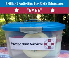 BABE Series: Postpartum Survival Kit – Helping Families Be Ready for Life with a Newborn - Science & Sensibility