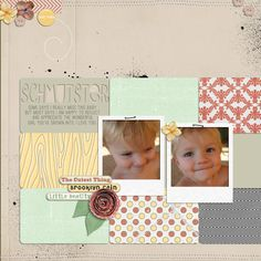 Scrapbook Layout twopeasinabucket.com