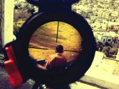 A old Israeli soldier named Mor Ostrovski posted a photo of what appears to be a Palestinian child in the crosshairs of his rifle. The Sniper, Rifle, Social Media Site, Palestine, Photos, Pictures, Instagram, Army, Image