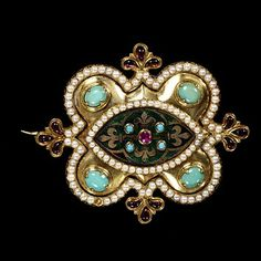 Brooch | V Search the Collections England ca. 1848