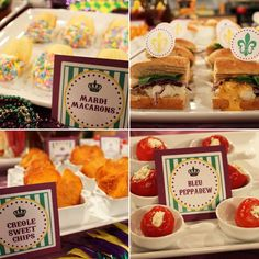 Great site for party decor ideas, recipes & printables