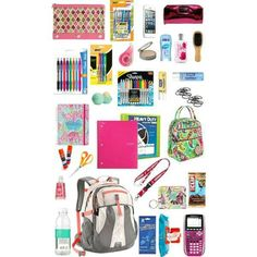 Backpack essentials for college... on We Heart It #School #easyorganized #backpack #things #Studying #college #ideas #tipsandtricks... #essentials #L4L #FF #amazing #instafollow