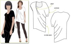 Billie - Sizes 10, 12, 14 - Women's Drape Top PDF Sewing Pattern by Style Arc - Sewing Project - Digital Pattern by StyleArc on Etsy https://www.etsy.com/listing/225158323/billie-sizes-10-12-14-womens-drape-top