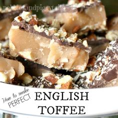 Perfect English Toffee on MyRecipeMagic.com