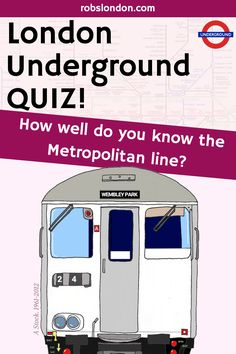 The Metropolitan line is the oldest underground railway in the world. Try this quiz to find out! Underground Lines, London Underground, Vintage London, Old London, Metropolitan Line, London History, London Transport, Quizzes, Trivia
