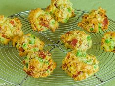 Cookies léger au jambon et petits pois