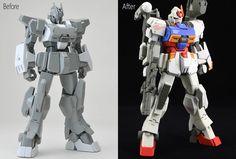 Mokei Labo's Latest Amazing Improved Work: HGBF 1/144 Gundam Ez-SR 78 modeled by Masatoshi. Full Photo Review, Info http://www.gunjap.net/site/?p=291806