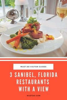 3 Sanibel, Florida Restaurants With a View | Must Do Visitor Guides Waterfront Restaurant, Restaurant Offers, Fort Myers Restaurants, Sanibel Florida, Pepper Steak, Crab Cakes, Places To Eat, Pasta Dishes, Holiday Recipes