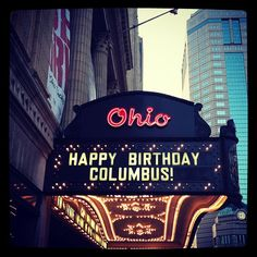 Happy Birthday, Columbus! Photo by @Christina Christian