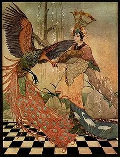 the snow queen illustrated by edmund dulac - Google Search