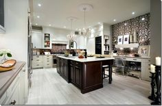 Love this - Kitchen by one of my fave designers, Candice Olson