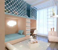 Small Room Design Bedroom, Small House Interior Design, Kids Bedroom Designs, Bedroom Furniture Design, Room Ideas Bedroom, Kids Room Design, Home Room Design, Furniture Ideas, Childrens Bedroom Furniture