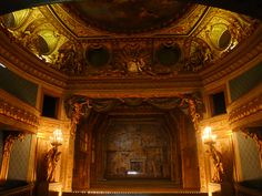 Theatre of Marie Antoinette - Petit Trianon ~ built in 1780 by the architect Richard Mique (1st of two pins)