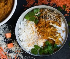 30 MINUTE SWEET POTATO & LENTIL CURRY STEW