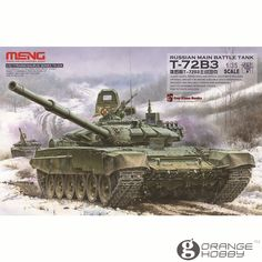 79.00$  Buy here - http://ali533.worldwells.pw/go.php?t=32761879969 - Meng TS028 1/35 Russian T-72B3 Main Battle Tank Assembly Scale AFV Model Building Kits 79.00$
