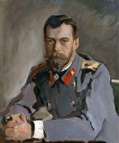 Valentin Serov. Portrait of Emperor Nicholas II. 1907