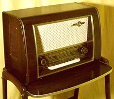 Loewe Opta Rheinkönig 3255W Röhrenradio Radio