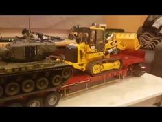 RC Leopard 2 Tank is on the Bruder Mack  / RC Lovers