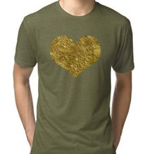 Heart of gold | Golden heart | T-shirt | heart love valentine glitter golden lover friend friendship teach sweet happy valentine bestseller popular pop awesome great valentine day love heart pink gold husband wife girlfriend boyfriend baby child son daughter best friend romance family beautiful hipster trendy trend on trend hashtag cover top selling