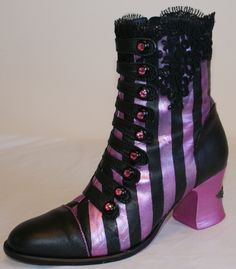 Gothic Charm School boots by Cherries Jubilee; too cute!