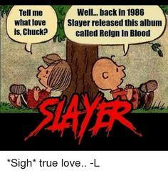 Employees must carve slayer into their forearm before returning to work \m/ fuckinslayer slayer metal metalhead thrash thrashmetal Hard Rock, Woodstock, 80s Metal Bands, Reign In Blood, Metal Meme, Heavy Metal Music, Judas Priest, Music Memes, Thrash Metal
