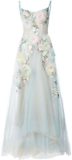Marchesa Notte embellished ball gown Wedding Dress. Beautiful for a Spring or Summer outdoor Country, Farmhouse or Garden style Wedding. #shopstyle #sponsored