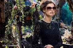 5ba2c0c2aa3f0f Bianca Balti for Dolce Gabbana FW 2014 2015 (V) Lunettes De Soleil, Foison