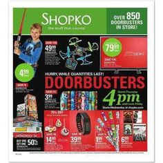 Shopko Black Friday Sales Ad - http://www.couponconnectionidaho.com/blackfriday-2015/shopko/
