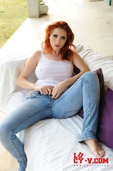 Hot redhead lucy collett sorry, that