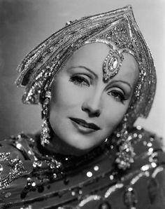 Greta Garbo as Mata Hari, 1938. nice headress...perhaps without the forhead jewel