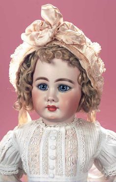 Beautiful German Bisque Child,939,by Simon and Halbig,Size 16,with Spectacular Eyes